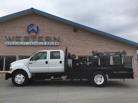 2008 Ford F-650 for sale at Western Specialty Vehicle Sales in Braidwood IL