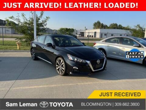 2019 Nissan Altima for sale at Sam Leman Toyota Bloomington in Bloomington IL