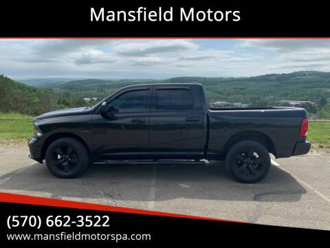 2018 RAM Ram Pickup 1500 for sale at Mansfield Motors in Mansfield PA