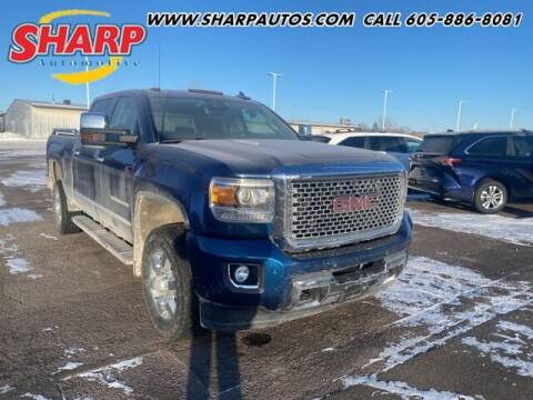 2015 GMC Sierra 3500HD for sale at Sharp Automotive in Watertown SD