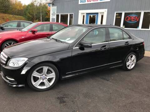 2011 Mercedes-Benz C-Class for sale at Mascoma Auto INC in Canaan NH