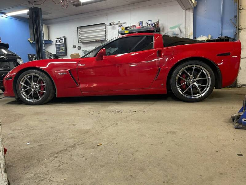 2009 Chevrolet Corvette for sale at Top Line Motorsports in Derry NH