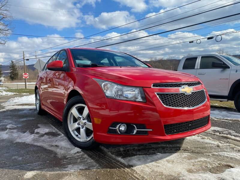 2012 Chevrolet Cruze for sale at Best For Less Auto Sales & Service LLC in Dunbar PA