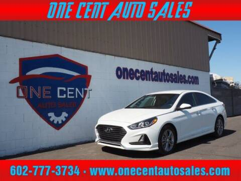 2018 Hyundai Sonata for sale at One Cent Auto Sales in Glendale AZ
