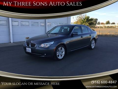 2010 BMW 5 Series for sale at My Three Sons Auto Sales in Sacramento CA