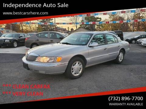 1998 Lincoln Continental for sale at Independence Auto Sale in Bordentown NJ