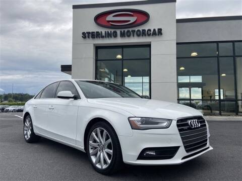 2013 Audi A4 for sale at Sterling Motorcar in Ephrata PA