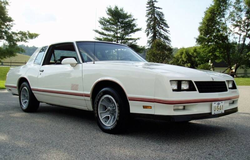 1988 Chevrolet Monte Carlo for sale at MILFORD AUTO SALES INC in Hopedale MA