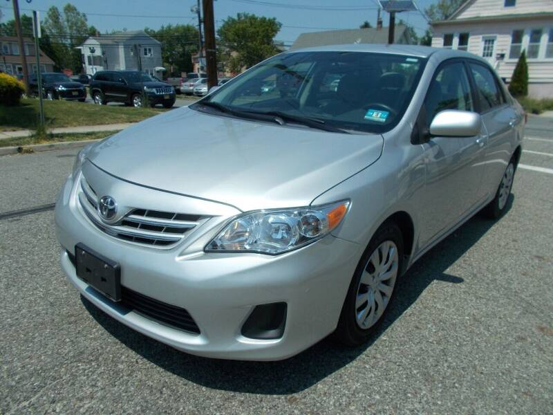 2013 Toyota Corolla for sale at Mercury Auto Sales in Woodland Park NJ