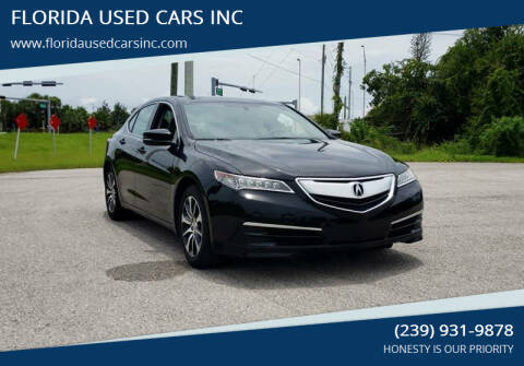 2015 Acura TLX for sale at FLORIDA USED CARS INC in Fort Myers FL