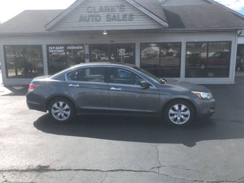 2008 Honda Accord for sale at Clarks Auto Sales in Middletown OH