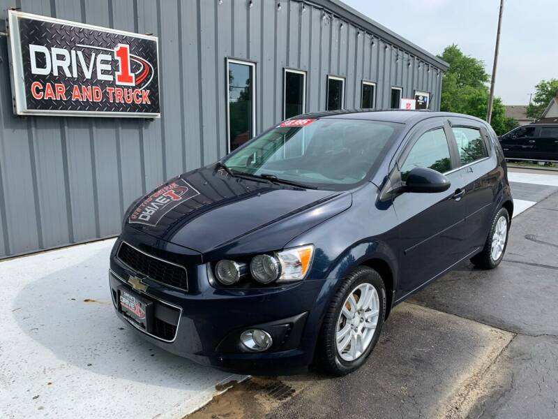2015 Chevrolet Sonic for sale at Drive 1 Car & Truck in Springfield OH