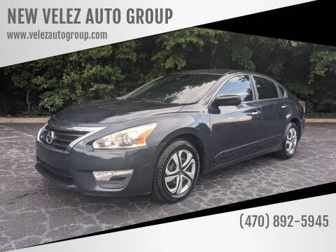 2014 Nissan Altima for sale at NEW VELEZ AUTO GROUP in Gainesville GA