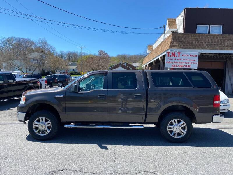 2006 Ford F-150 for sale at TNT Auto Sales in Bangor PA