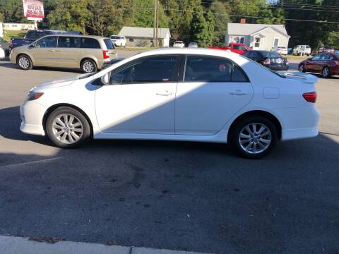 2010 Toyota Corolla for sale at Stikeleather Auto Sales in Taylorsville NC