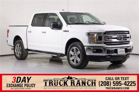 2018 Ford F-150 for sale at Truck Ranch in Twin Falls ID