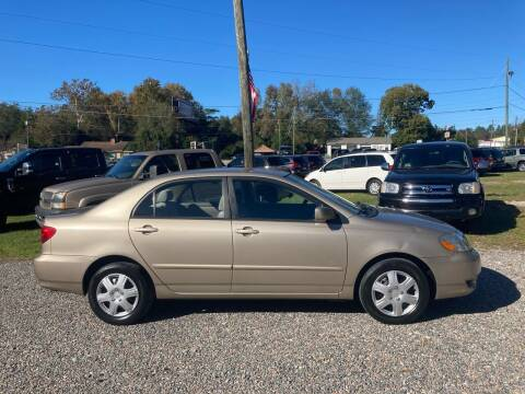 2004 Toyota Corolla for sale at Joye & Company INC, in Augusta GA
