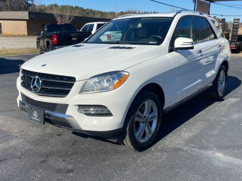 2015 Mercedes-Benz M-Class for sale at Luxury Auto Innovations in Flowery Branch GA
