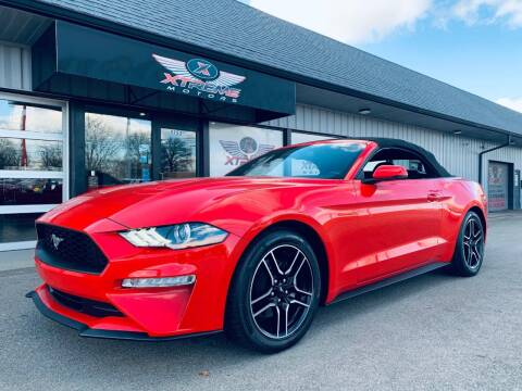 2020 Ford Mustang for sale at Xtreme Motors Inc. in Indianapolis IN