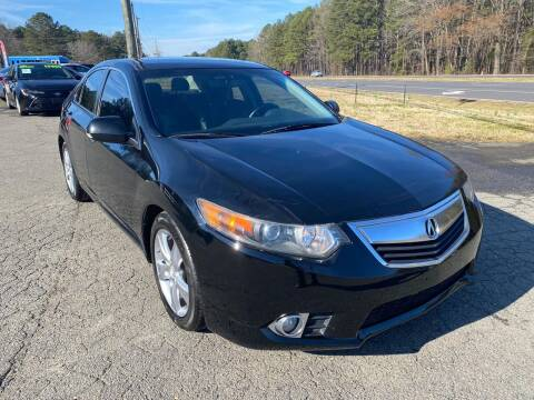 2011 Acura TSX for sale at CVC AUTO SALES in Durham NC