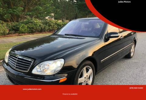 2005 Mercedes-Benz S-Class for sale at Judex Motors in Loganville GA