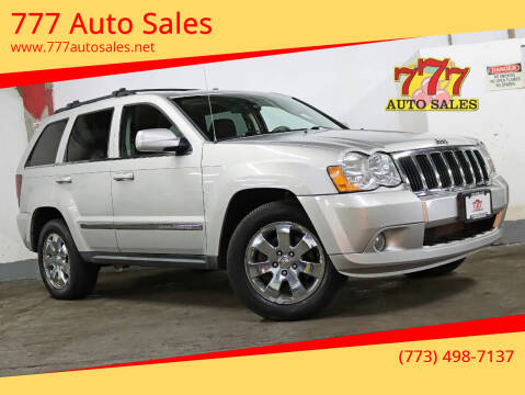 2008 Jeep Grand Cherokee for sale at 777 Auto Sales in Bedford Park IL