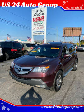 2008 Acura MDX for sale at US 24 Auto Group in Redford MI