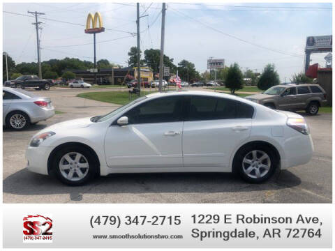 2008 Nissan Altima for sale at Smooth Solutions 2 LLC in Springdale AR