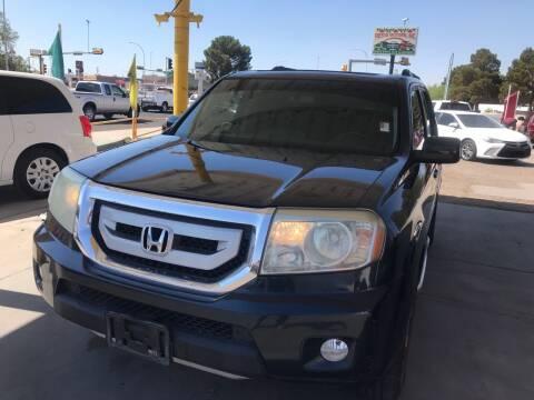 2009 Honda Pilot for sale at Fiesta Motors Inc in Las Cruces NM