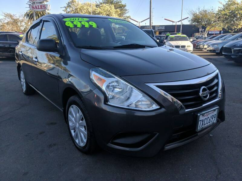 2015 Nissan Versa for sale at Convoy Motors LLC in National City CA