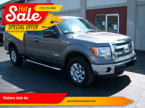 2013 Ford F-150 for sale at Blatners Auto Inc in North Tonawanda NY