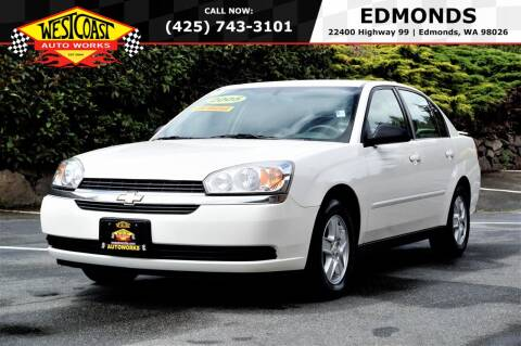 2005 Chevrolet Malibu for sale at West Coast Auto Works in Edmonds WA