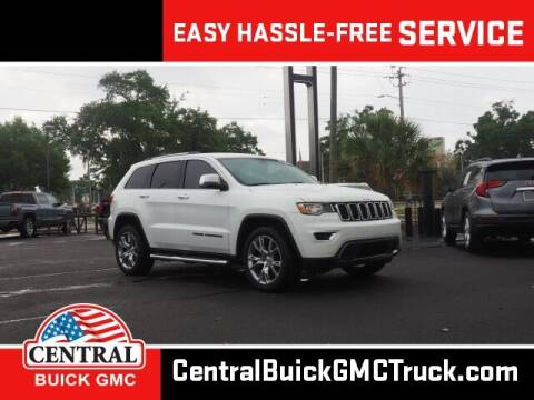 2017 Jeep Grand Cherokee for sale at Central Buick GMC in Winter Haven FL