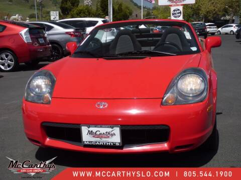 2001 Toyota MR2 Spyder for sale at McCarthy Wholesale in San Luis Obispo CA