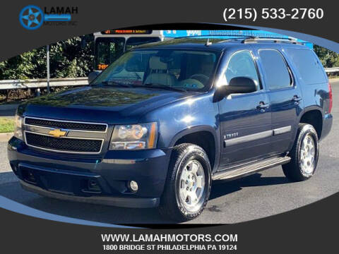 2007 Chevrolet Tahoe for sale at LAMAH MOTORS INC in Philadelphia PA