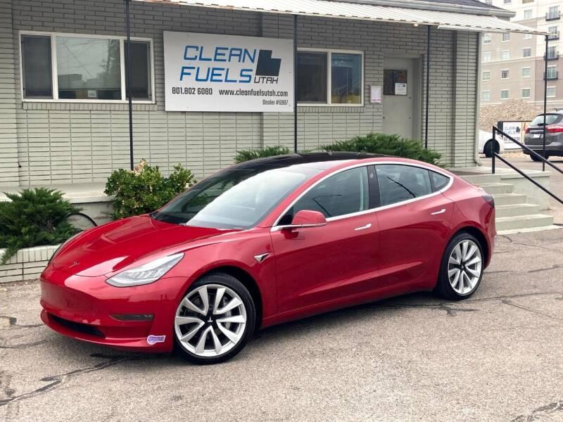2018 Tesla Model 3 for sale at Clean Fuels Utah - SLC in Salt Lake City UT
