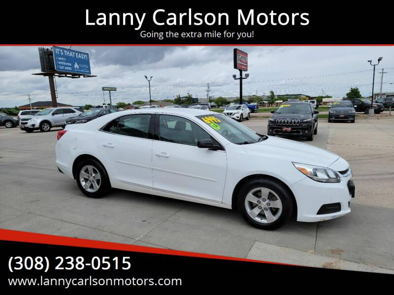 2014 Chevrolet Malibu for sale at Lanny Carlson Motors in Kearney NE