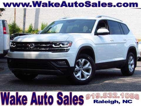 2018 Volkswagen Atlas for sale at Wake Auto Sales Inc in Raleigh NC