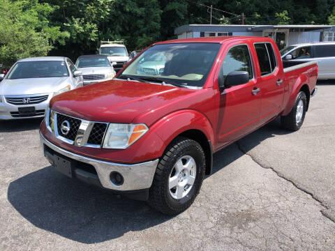 2007 Nissan Frontier for sale at J & J Autoville Inc. in Roanoke VA