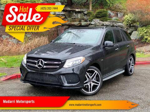 2017 Mercedes-Benz GLE for sale at Mudarri Motorsports in Kirkland WA