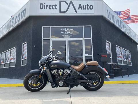 2017 Indian Scout for sale at Direct Auto in D'Iberville MS