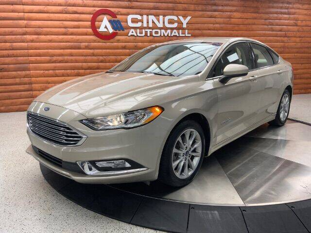 2017 Ford Fusion Hybrid for sale in Fairfield, OH