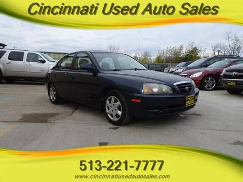 2006 Hyundai Elantra for sale at Cincinnati Used Auto Sales in Cincinnati OH