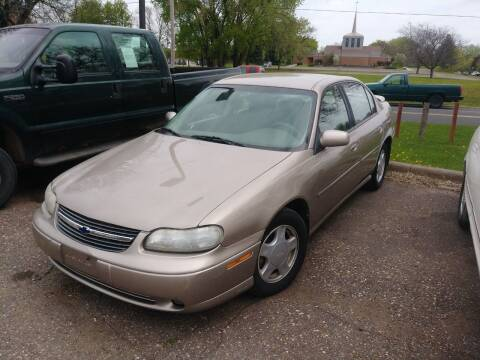 2000 Chevrolet Malibu for sale at Continental Auto Sales in White Bear Lake MN