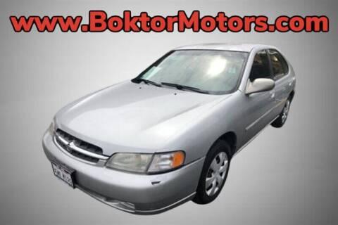 1999 Nissan Altima for sale at Boktor Motors in North Hollywood CA