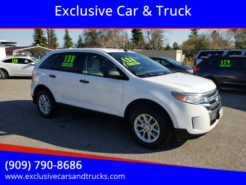 2014 Ford Edge for sale at Exclusive Car & Truck in Yucaipa CA