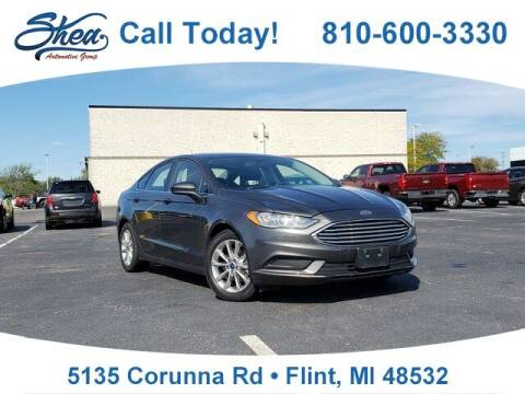 2017 Ford Fusion for sale at Erick's Used Car Factory in Flint MI