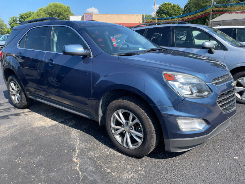 2016 Chevrolet Equinox for sale at Auto Exchange in The Plains OH