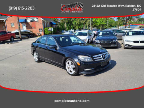 2011 Mercedes-Benz C-Class for sale at Complete Auto Center , Inc in Raleigh NC