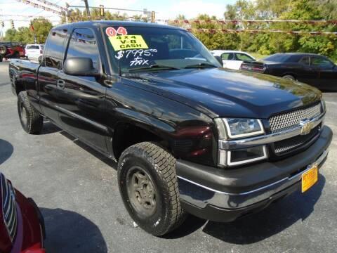 2004 Chevrolet Silverado 1500 for sale at River City Auto Sales in Cottage Hills IL